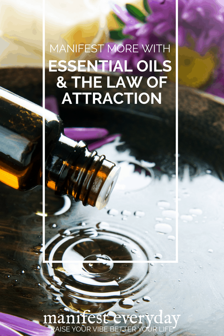 Did you know essential oils and the Law of Attraction go hand-in-hand? Essential oils are great for boosting moods and improvingoverall well-being. Learning about essential oils, their properties and ways to use them can actually help you maintain a positive vibration and help you focus on taking action with your goals. #essentialoils #lawofattraction #manifest